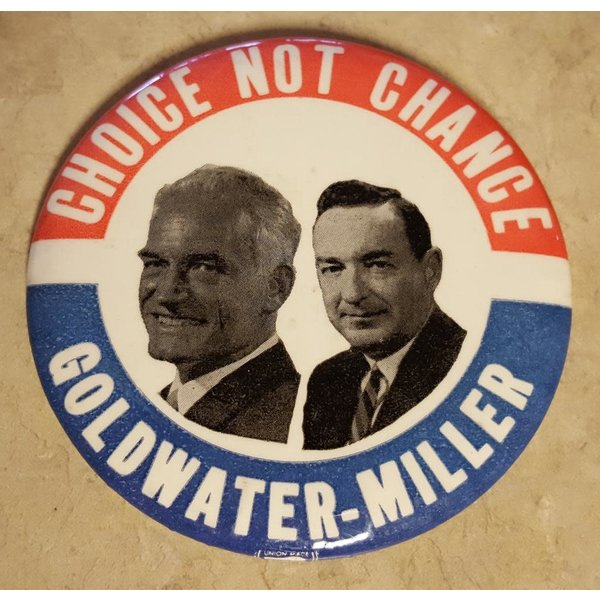 Choice Not Chance Campaign Button