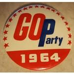 GOP Party 1964 Campaign Button