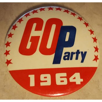 GOP Party 1964 Campaign Button