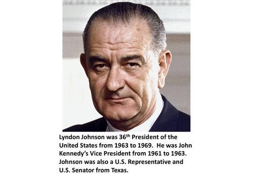 Lyndon Johnson Items