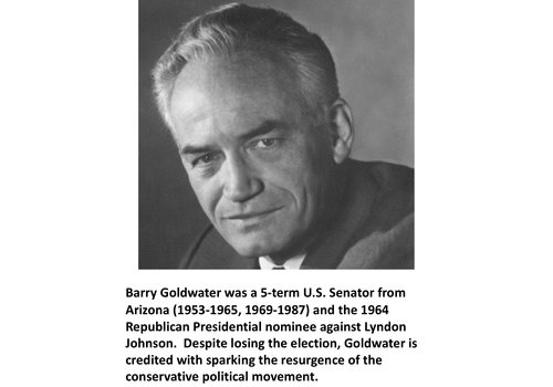Barry Goldwater Items