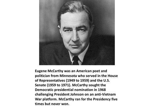 Eugene McCarthy Items