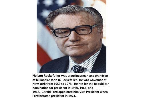 Nelson Rockefeller Items