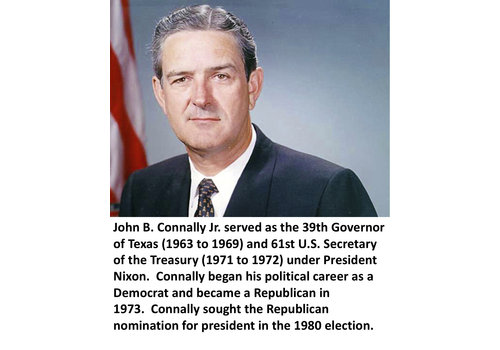 John Connally Items