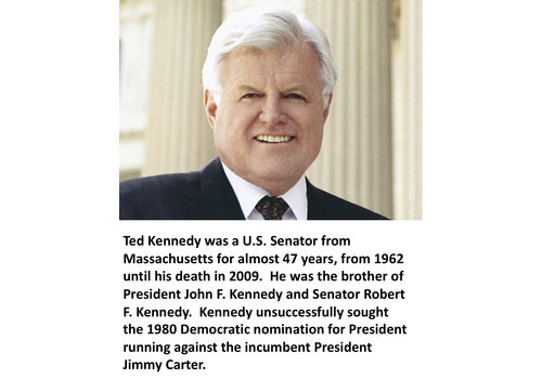 Ted Kennedy Items