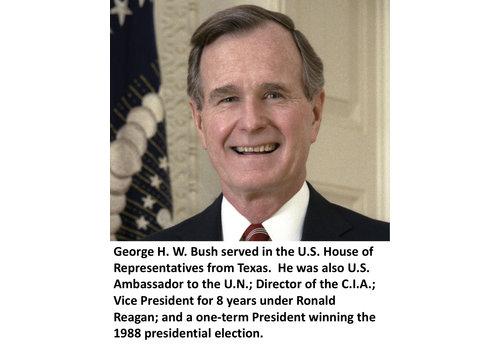 George H. W. Bush Items
