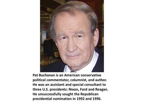 Pat Buchanan Items