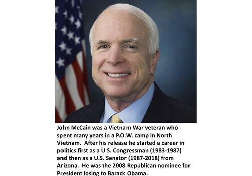 John McCain Items