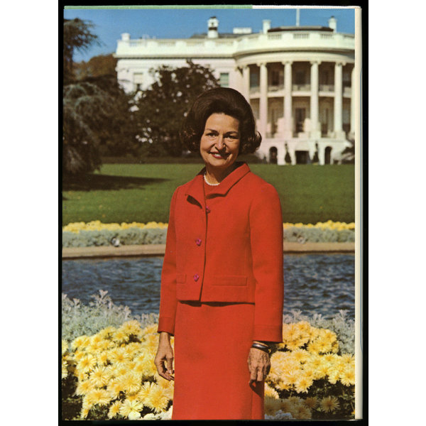 Lady Bird A White House Diary by Lady Bird Johnson - Original Hardcover, Autographed By Lady Bird