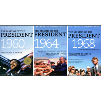 The Making of the President 1960, 1964, 1968 3-Book Set by Theodore H. White PB
