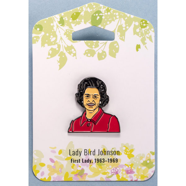 "Lady Bird 1.25"" Enamel Pin"