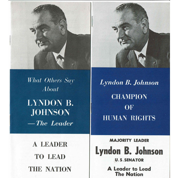 All the Way with LBJ 1960 Johnson for President Press Kit