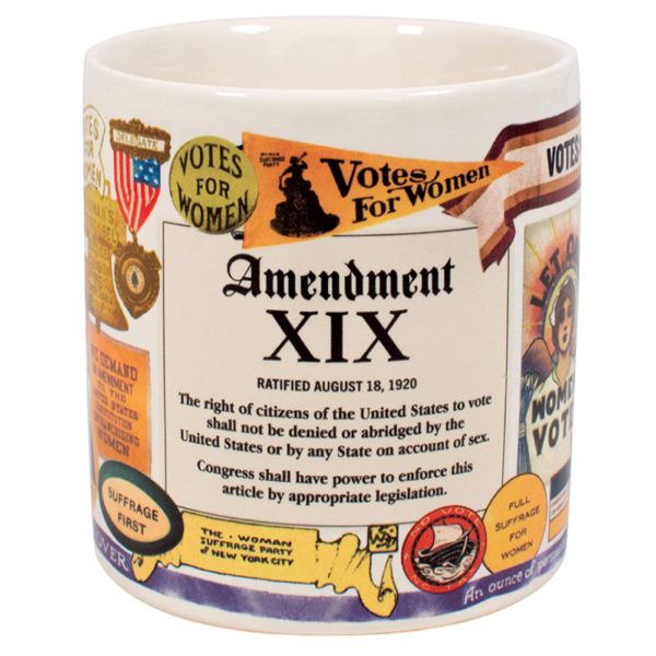 Civil Rights 19th Amendment Mug