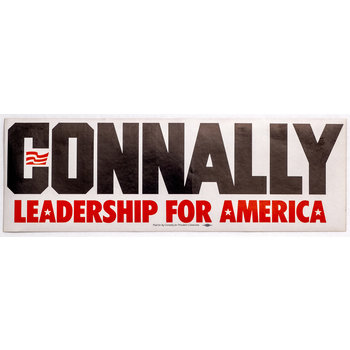 Connally Leadership Bumpersticker
