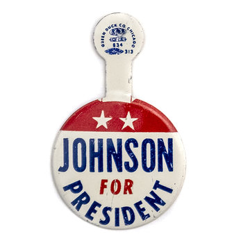 All the Way with LBJ Johnson for President Tab
