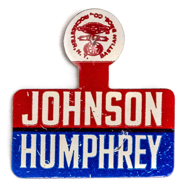 All the Way with LBJ Johnson Humphrey Tab