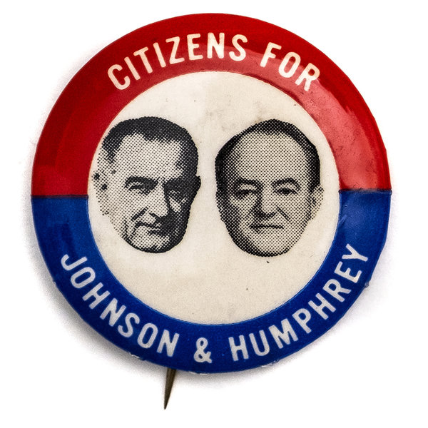 All the Way with LBJ Citizens for Johnson Humphrey