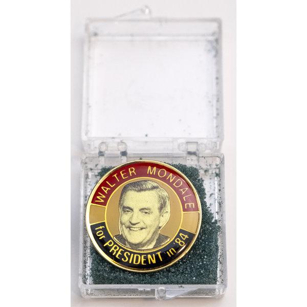 1984 Walter Mondale Lapel Tac Pin