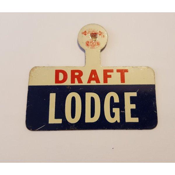 Draft Lodge 1960 VP Tab