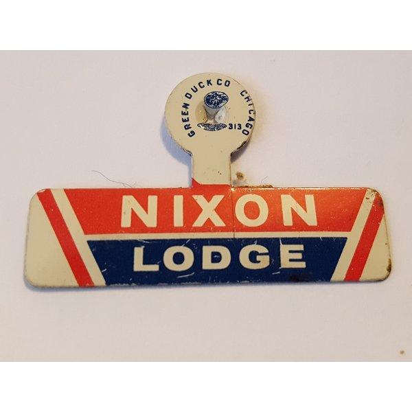 Nixon Lodge 1960 Tab