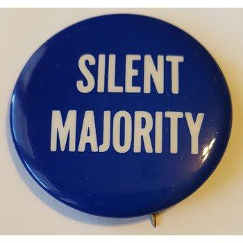 Nixon Silent Majority button