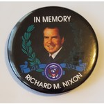 In Memory Richard M. Nixon Button