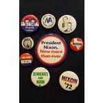Richard Nixon Campaign Button Collection 2