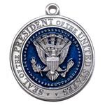 LBJ Pewter Ornament