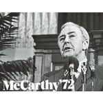 McCarthy '72 Campaign Flyer