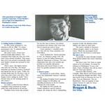 Reagan Bush Texas Campaign Brochure