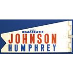 All the Way with LBJ Johnson Humphrey Auto Antenna Flag