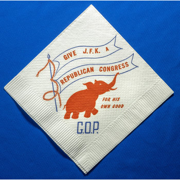 Give JFK A Republican Congress Napkin