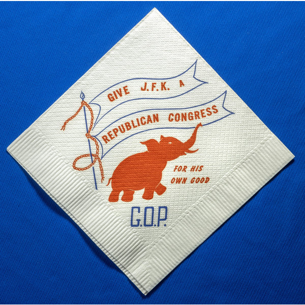 Give JFK A Republican Congress Napkin