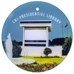LBJ Library Glass Ornament
