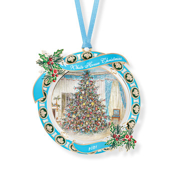 All the Way with LBJ LBJ WHHA Ornament 2021