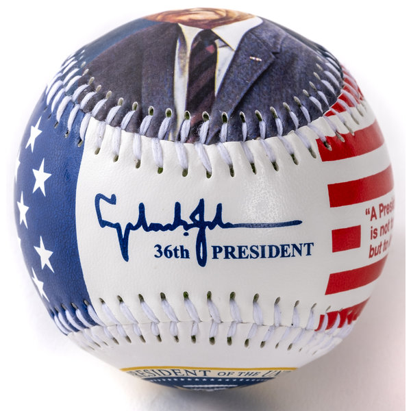 LBJ Custom Baseball