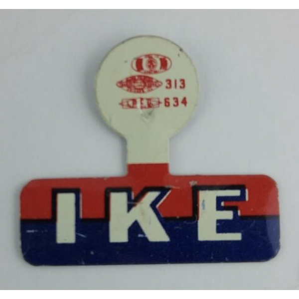 "1952 ""IKE"" Campaign Tab"