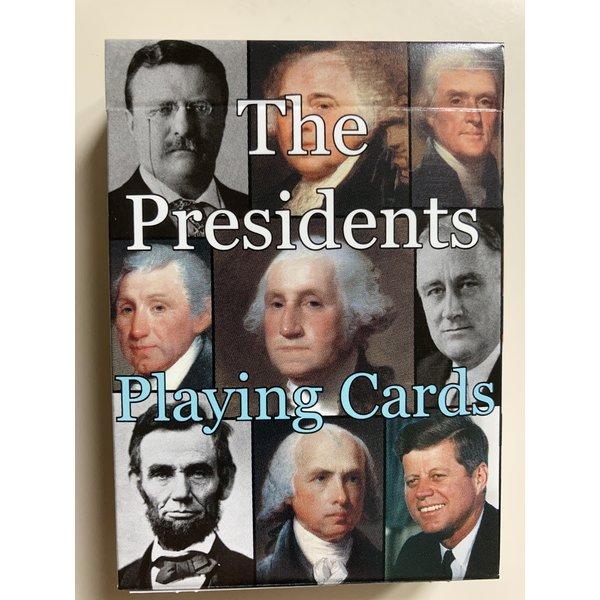 Presidents Playing Cards 2021