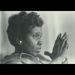 Civil Rights Barbara Jordan Postcard