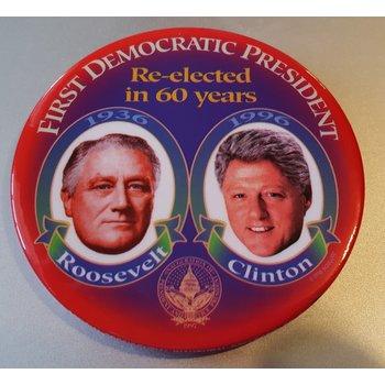 Clinton FDR 1st Democratic
