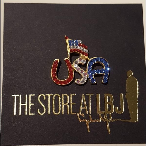 USA Flag tac pin
