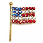 Americana Flag Brooch