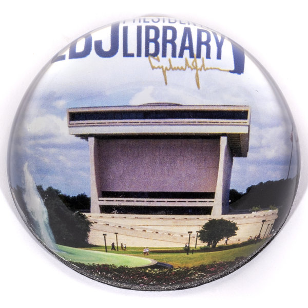 LBJ LIBRARY PAPERWEIGHT