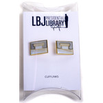 All the Way with LBJ LBJ Library Cufflinks