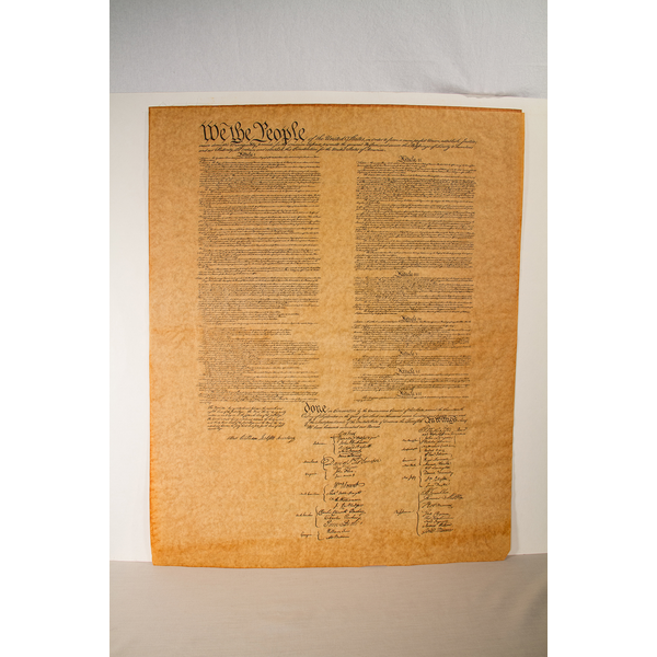 """Americana US Constitution Poster 23""""X29"""" tube"""