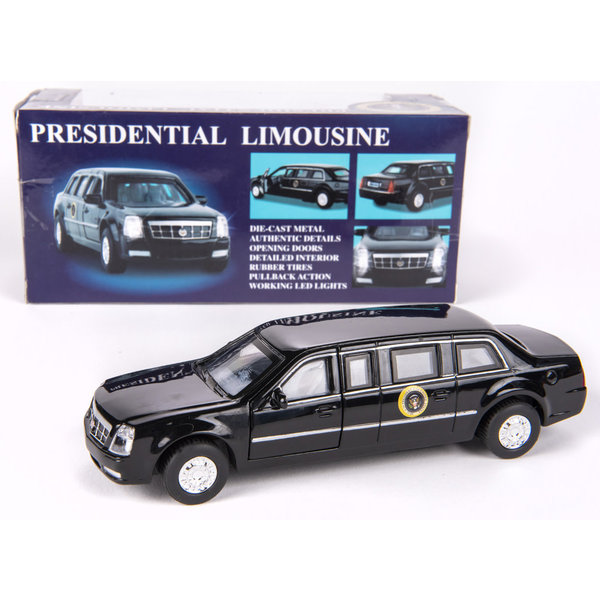 All the Way with LBJ Presidential Pullback Limo with Lights