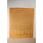 """Americana Declaration of Independence Poster 23""""x29"""" tube"""