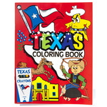 Austin & Texas Texas Coloring Book with Crayons