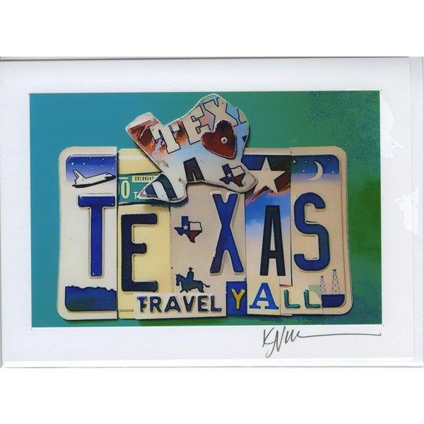 Austin & Texas Texas Travel Y'all Blank Card