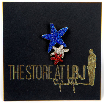 Americana Three Star Tac Pin